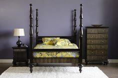 Dania Furniture eclectic bedroom