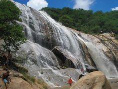 Cachoeira do Espelho, Teixeira