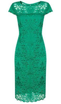 Green dress by #taranko