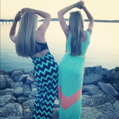Beach picture with my best friend Madison