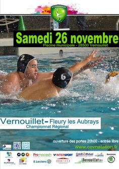 26/11/2016 Match de water-polo Vernouillet - Fleury les Aubrays