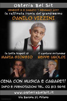 Venerdì 6 e sabato 7 gennaio 2017 - Danilo Vizzini