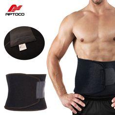 17d933098d3 Adjustable Waist Trimmer Exercise Sweat Belt Fat Burner Shaper Slimming  Lose Weight Body Burn Cellulite for Men Women