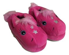 Stride Rite Slippers Medium 9/10 Girls Magic Pony Fushsia New #StrideRite #Slippers