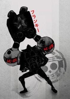 tv show anime manga japanese japan oda one piece op robot gundam frankie franky simple lol funny bf star luffy zoro fanfreak sanji nami straw hats pirate