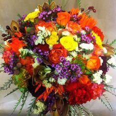 #Fall #wedding #fabulous Bridesmaid Bouquet, Wedding Bouquets, Iridescent, Fall Wedding, Create Yourself, Floral Wreath, Bloom, Wreaths, Bridal