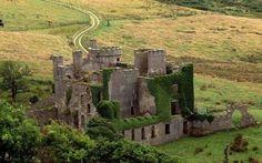 Clifden Castle, County Galway, Ireland