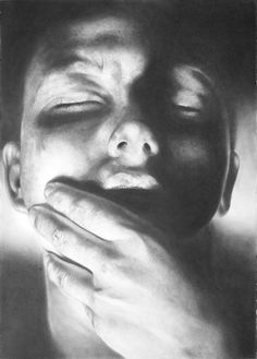 Current exhibition: Philippe Huart – Ceremony / Sacrifice  Philippe Huart, Extase #1 2015, Graphit auf Papier Graphite on paper, 92 x 66 cm