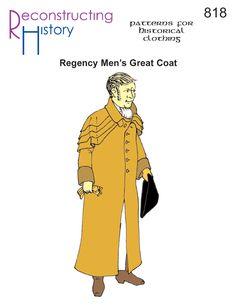 Regency Great Coat | Great Coat | Great Coat Pattern