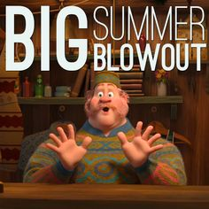 Yoo Hoo! Big summer blowout! Oaken is easily my favorite character in Frozen.