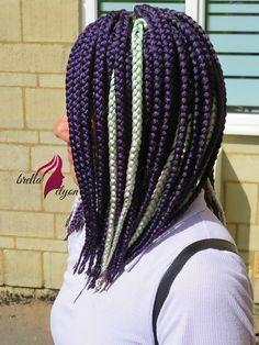 Feed In Braids Hairstyles, Braided Hairstyles, Twist Cornrows, Box Braids, Twists, Dreadlocks, Hair Styles, Beauty, Chunky Twists