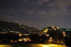Castello di Brescia visto da Campo Marte