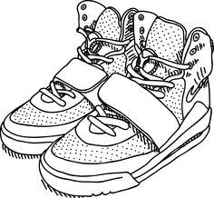 #Nike #Yeezy #Line #Illust #Artwork