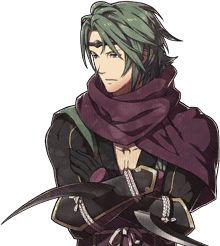Kaze - Fire Emblem: If ; He is a ninja in the service of Ryoma. Unlike his brother Saizou, he accompanies the Avatar regardless of their decision. He is calm and polite. Kaze is an ally on both routes. He serves as a thief style character, being able to unlock doors and chests.