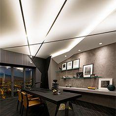 Soft Line LED Indirect Lighting System