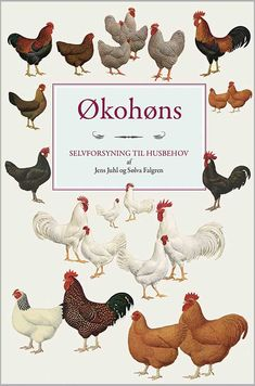 Danish book about chickens Chicken Garden, Coops, Country Life, Rooster, Place Cards, Place Card Holders, Danish, Animaux, Photography