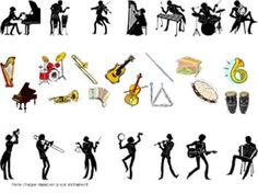 Worsheets about Musical Instruments Music Worksheets, Partition, Kindergarten, Chant, Teaching Music, Musical Instruments, Musicals, Homeschool, Clip Art