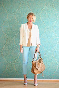 Glam up your Lifestyle : Büro-Outfit mit weißem Blazer