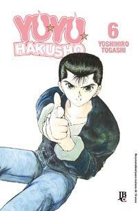 LIGA HQ - COMIC SHOP YU YU HAKUSHO #6 (de 19) - Yu Yu Hakusho - Mangá PARA OS NOSSOS HERÓIS NÃO HÁ DISTÂNCIA!!!