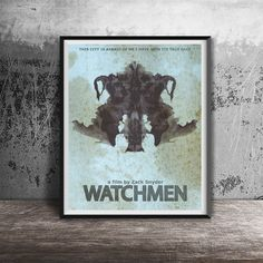 Movie poster printWatchmen-movie printable от OandBstudios на Etsy