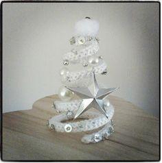 Christmas tree. Kerstboompje. Zulke voorbeelden laten je op zoek gaan naar je punnikklosje.