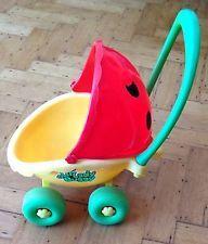 Retro 1979 Playskool Lil Lady Ladybug Ladybird Pram Buggy Pushchair