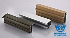 Anodizing aluminium profile for industrial application, windows and doors.