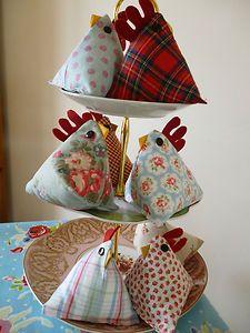 Handmade Lavender Chicken/ Hen Lots of different designs inc Cath Kidston fabric   eBay