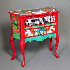 """63_Królowa_Kier (2) great cabinet as the """"Alice in Wonderland"""" from the http://artpopo.pl/"""
