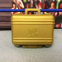 "WWE Wrestling Mattel Gold Money in the Bank Briefcase Accessory for 6-7"" Figures - http://bestsellerlist.co.uk/wwe-wrestling-mattel-gold-money-in-the-bank-briefcase-accessory-for-6-7-figures/"