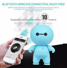HIPERDEAL Portable Audio Video Speakers Mini Cartoon Wireless Bluetooth Speaker Handsfree Best Gift For Friend/Kids jan3. Yesterday's price: US $13.92 (11.48 EUR). Today's price: US $9.74 (8.01 EUR). Discount: 30%.