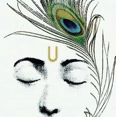 Indian Paintings, Sketches, Ganesha Painting, Art Charcoals, Amazing Art Painting, Art, Krishna Painting, Krishna Tattoo
