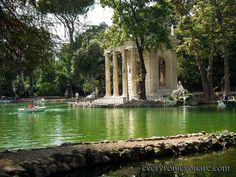 Pincio, Villa Borghese beautiful park..see more  http://everyromeyouare.com/rome-attractions/