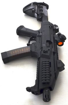 CZ-USA Scorpion EVO 3 S1 Pistol with Sig Sauer Stabilizing Brace. Also shown: 20 & 30 Round Translucent Magazines Bushnell TRS-25 Red Dot Please follow everydaycivilian for continued coverage of...