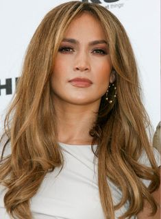 Jennifer Lopez New Brazilian Human Hair Lace Front Wig Haircut For Square Face, Square Face Hairstyles, Cool Hairstyles, Long Curly Hair, Curly Hair Styles, Thick Hair, Hair Pictures, Hairstyle Pictures, Hair Colors