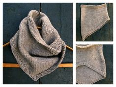 This cute bandana cowl free knitting pattern is a cute cowl that'll help you stay warm and fashionable. Make one with the free pattern below.