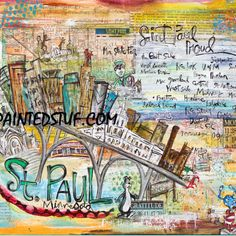 St.Paul Print from Painted Stuf LLC for $79.99  16x20  http://www.paintedstuf.com/Inspiration_On_Canvas.html