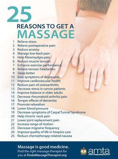 Benefits of Massage, and what you'll learn at www.TheTenaciousCrasis.com