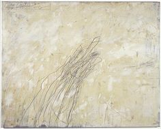 """Cy Twombly """"Paradise"""" at Museo Jumex in Mexico City Sept.7th – Oct.12th"""