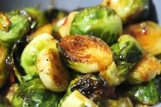 Team Traeger | Spicy Asian Brussel Sprouts with a Sweet Chili Glaze