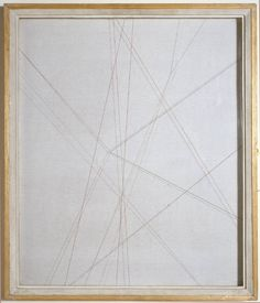Paule Vézelay 'Lines in Space No. 1954 © The estate of Paule Vézelay Tate St Ives, Artist Grants, Found Art, Light And Space, Space Gallery, Line, Geometry, Sculpture, Abstract