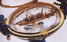 Standart Yacht Faberge Egg. 1909. Яйцо было подарено императором Николаем II императрице Александре Федоровне на Пасху 1909 г.