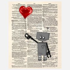My design inspiration: The LoveBot 3000 Canvas on Fab.