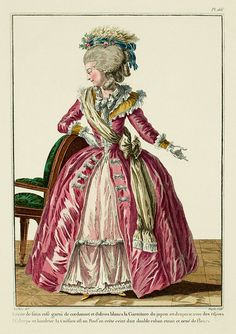 EKDuncan - My Fanciful Muse: 1780-1782 French Fashion Plates