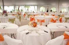 Galena, IL Wedding  www.chestnutmtn.com    The Sunset Garden Tent
