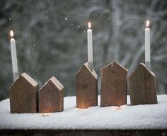 bougies cheminée