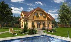 Rodinný dům Premier 151 Plus - Postřižín Home Fashion, New Homes, Mansions, House Styles, Home Decor, Board, Decoration Home, Manor Houses, Room Decor