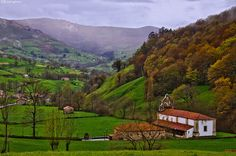 The green valley. Selaya, Cantabria, Spain.