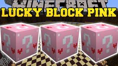 Minecraft: PINK LUCKY BLOCK MOD (JEN THE WITCH, WISHING WELL DATES, & BO...