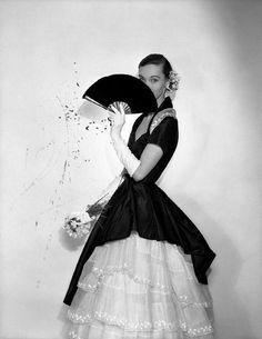 Evelyn Tripp  Photographed by Cecil Beaton